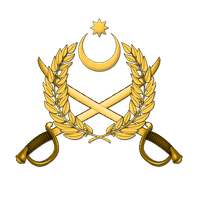 Coat of arms of Azerbaijani Land Forces V1 by Xumarov