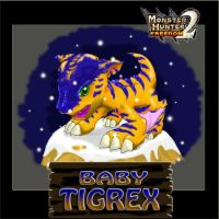 MH: Baby Tigrex by chinggay