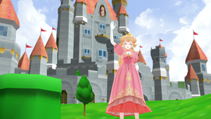 [MMD] Princess Peach's Castle Stage DL by MrWhitefolks