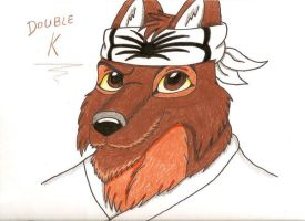 Smilin' Double K by SolitaryGrayWolf