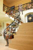 Family Tree Balustrade left by globalmetalart