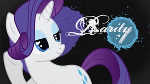 Rarity Wallpaper by Chadbeats