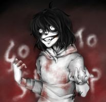 Jeff the Killer by B-or