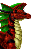 Red Dragon DNDSTYLE by Draconigenae666