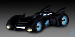The Batmobile by AntVar