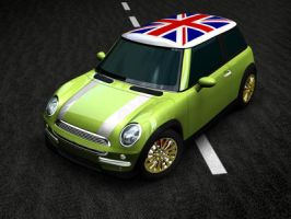 mini cooper by aaron-joseph
