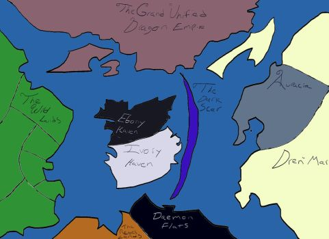 Map of Seira by BlackmoreCrest