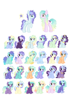 StarLight and Opalite CLOSED by StarDust-Adoptables