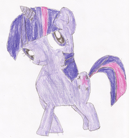 Twilight Sparkle Drawing by SoraJayhawk77