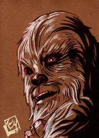 Pre Sci fi Expo Chewbacca no1 by Barnlord