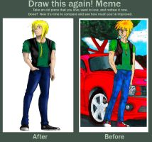draw this again MEME by Than1Ducis