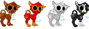 Breaker adoptables! by galexy-candy