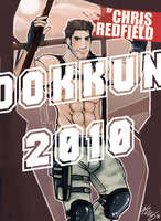 CHRIS REDFIELD DOKKUN by kwsmithjr
