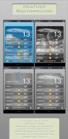 Metal Weather Backgrounds by alxboss