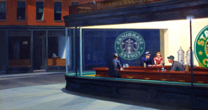 Starbucks Diner by DarkDaven