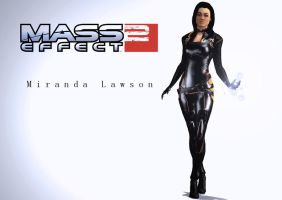 Miranda Lawson Leather by Rastifan