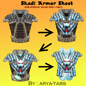 Armor Sheet Page by arya-tabs