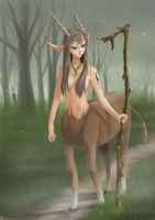 Emerwen guardian of the forest by linlilian