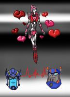 Elita, Prime, and Sentinel by polpolpolopl