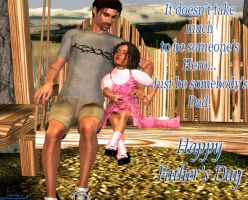 Happy Father's Day by QueenFlamewing