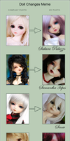 Doll Change Meme - Aida Dolls by AidaOtaku-BJD