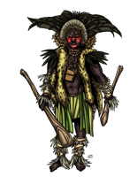 African Witch Doctor by ProdigyDuck
