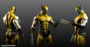 Wolverine Comic Look by BGOATBiz