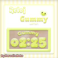 Reloj Gummy Lemon *w* by marusitaneko