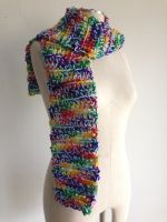 Rainbow Dash Skinny Scarf - My Little Pony Cosplay by Weeaboo-Warehouse