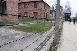 Electric Fence at Auschwitz I by Cr7NeTwOrK