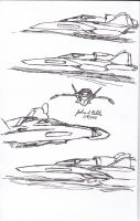 INSIDER Barracuda Ekranoplane Fighter by Tribble-Industries