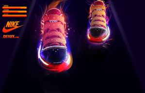 Nike Trainers by CkyGFX