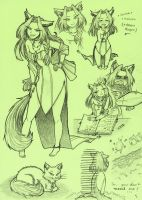 Green Cat Forest Contest by KGX347
