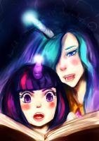 MLP - Teaching Twilight Sparkle by Scarlet-Songstress