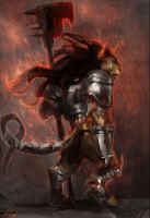 zodiacwarrior - Leo by DefiledVisions
