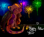 Layi wishes you a happy new year C: by MissLayira
