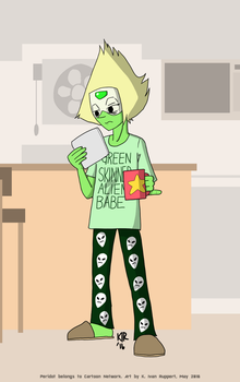 Peridot's Lazy Day by KIvanRuppert