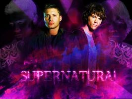 supernatural wallpaper by twilightfan4