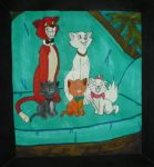 The Aristocats Family by InkArtWriter