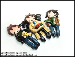 SPN Bff Set by GrandmaThunderpants
