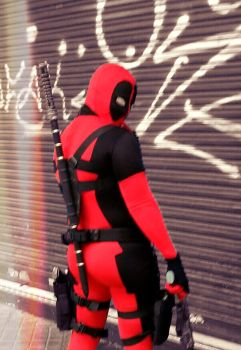 Deadpool cosplay by ReverendoGore