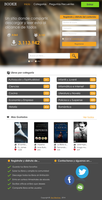 Booke - Pagina web by xaviermartinezf