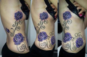 Purple Rose's on Rib's by Ashtonbkeje