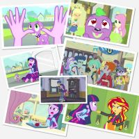 Equestria girls photo Collage by Mojo1985