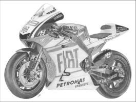 Yamaha YZR-M1 by NicksPencil