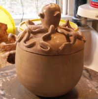 OCTOPUS POT by CorazondeDios