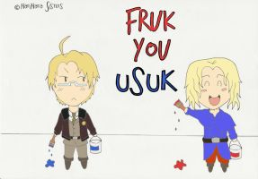 APH: FrUk you UsUk the revenge by HariHara-Sisters