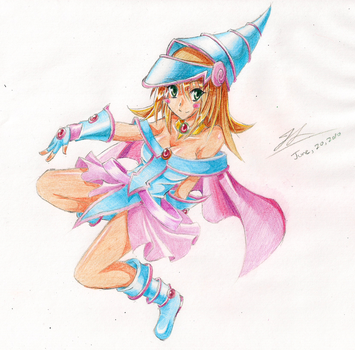 Dark Magician Girl by Accident by freezeex