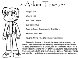 Death and Taxes: Adam by Sirus-XIII