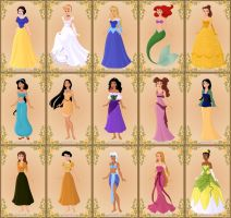 Disney Princesses (game complete) by jjulie98